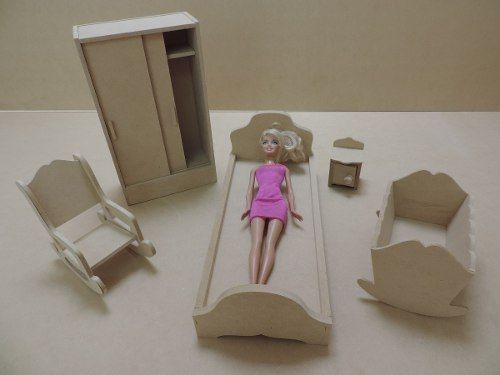 M s de 25 ideas incre bles sobre barbie de pintar en for Muebles para barbie