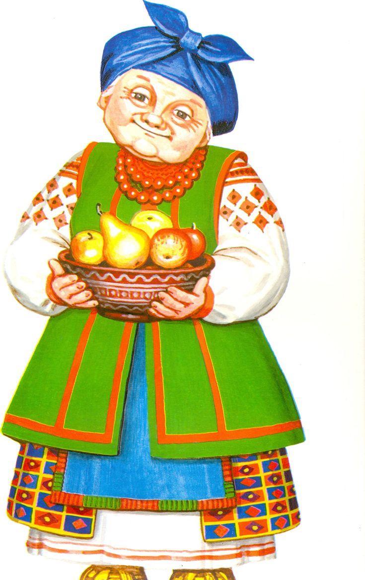 Персонажи русских народных сказок в картинках