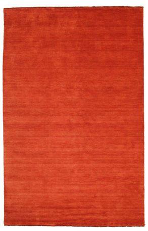 Handloom fringes - Ruoste/Punainen-matto 200x300