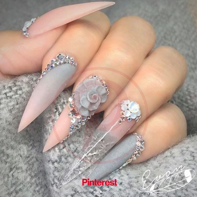 200 3d Nail Art That Will Help You Rock 2020 Long Stiletto Nails Pink Ombre Nails Cute Acrylic In 2020 Stiletto Nails Designs Long Stiletto Nails Pink Ombre Nails