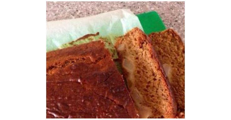 Clone of Sticky Pear Ginger Cake (Vegan)