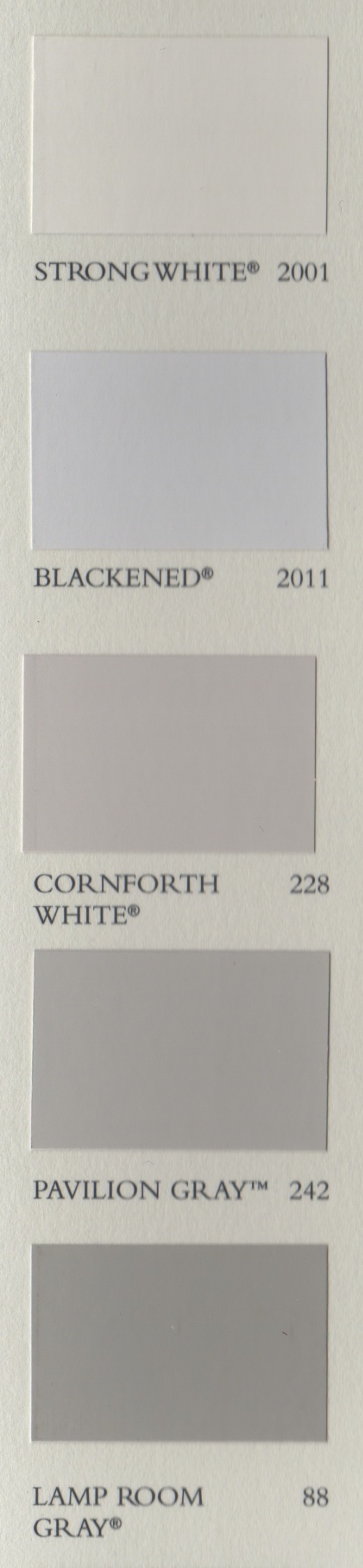 Farrow & Ball greys