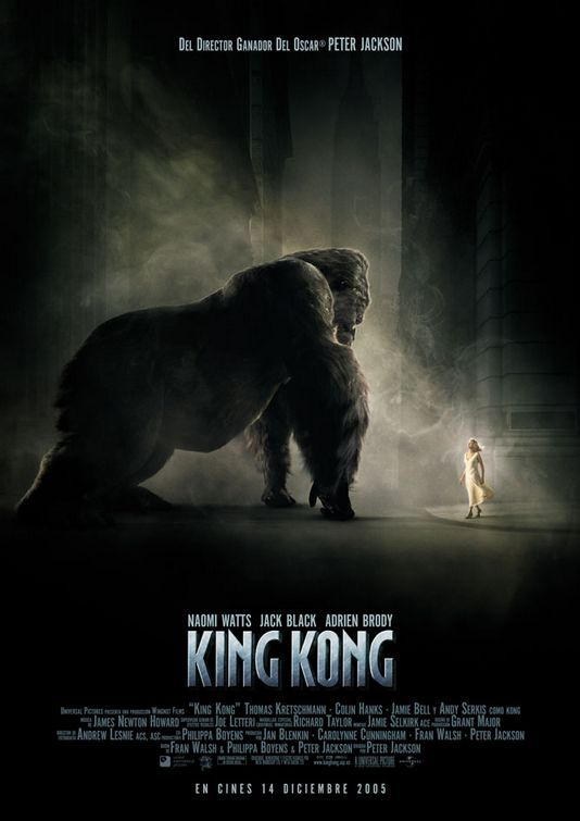 Image detail for -King Kong Movie Poster #6 - Internet Movie Poster Awards Gallery