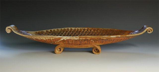 Gondola Bowl   Stoneware   Doris Fischer-Colbrie