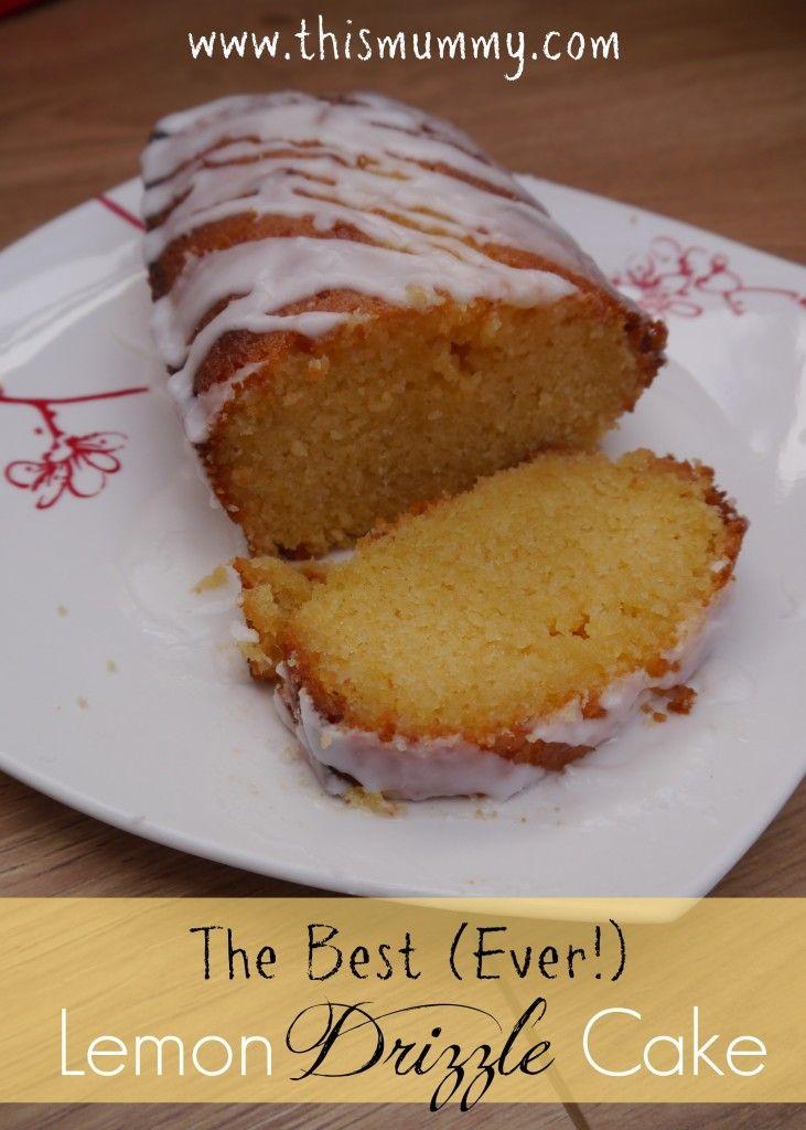 Easy Lemon Drizzle Cake Recipe