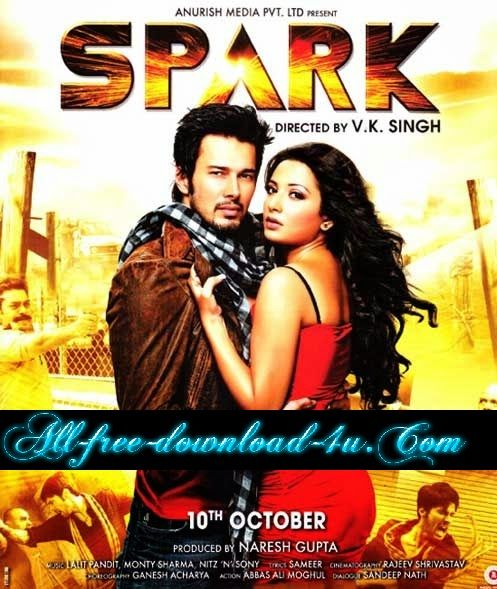 Poster Of Hindi Movie Spark (2014) Free Download Full New Hindi Movie Watch Online At all-free-download-4u.com