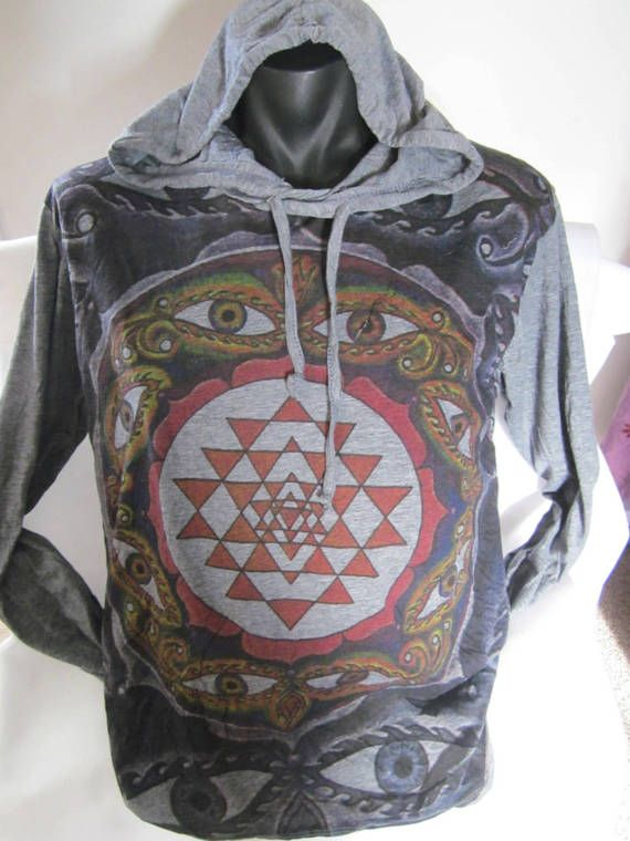 FUNKY   Hooded Cotton Top by isoleynz on Etsy
