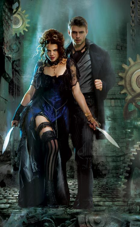 """Gene Mollica Art; Cover of """"My Lady Quicksilver"""" by Bec McMaster"""