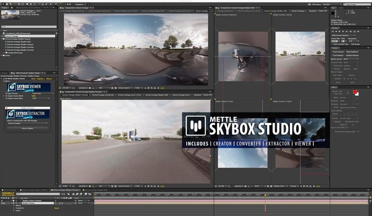 STEREOSCOPY :: Mettle SkyBox Studio - Youtube 360   3D VR Production in After Effects (1/1) -