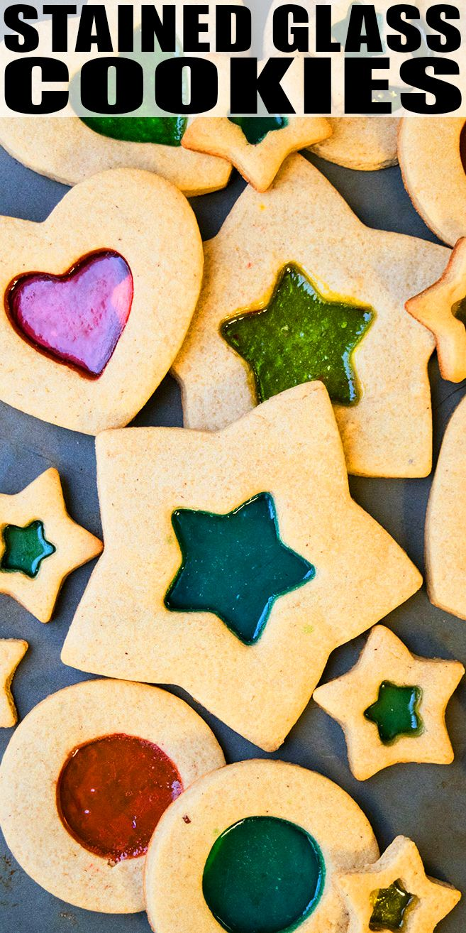 Stained Glass Cookies Recipe Quick Easy Made With Simple
