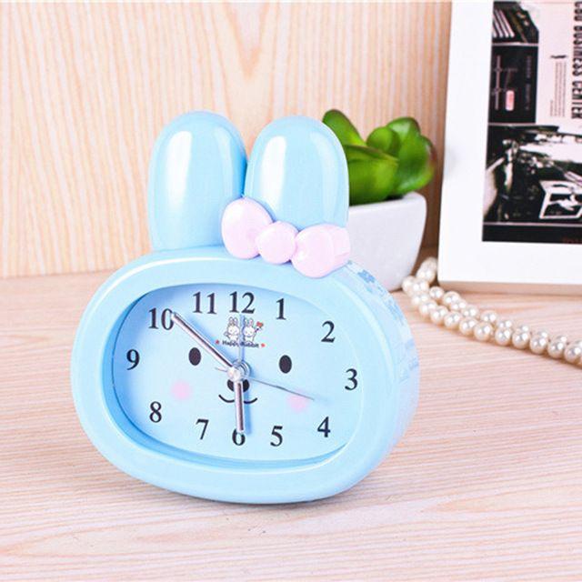 Brand New Children Toy Table Clock Cute Cartoon Rabbit Digital Desk Bunny Ears Alarm Clock Students Gift Kids Ute C Student Gifts Gifts For Kids Rabbit Cartoon