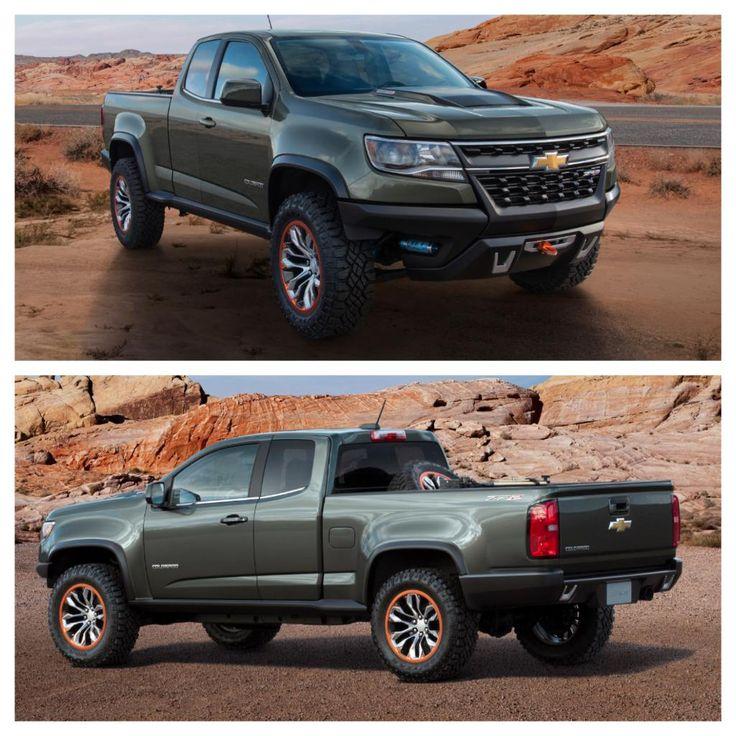 Blue Zr2 Colorado: 19 Best Chevrolet Colorado Images On Pinterest