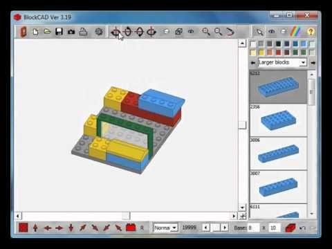 Tutorial - jak korzystać z programu BlockCad Virtual Lego.
