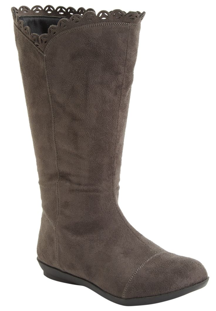 Wide Width Toni Wide Calf Boot by CV Flex by Comfortview® | Wide Calf Boots from Woman Within