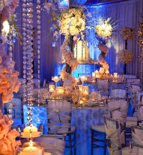 platinum wedding centerpieces platinum weddings
