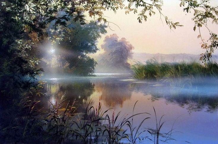 пейзажные открытки с добрым утром