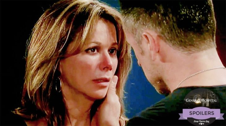 General Hospital (GH) spoilers tease that Alexis Davis (Nancy Lee Grahn) will soon be at war with her girls, Kristina Corinthos-Davis (Lexi Ainsworth), Sam Morgan (Kelly Monaco) and Molly Lansing-Davis (Haley Pullos) over her decision to allow Julian back into her life. Affiliate links included bel