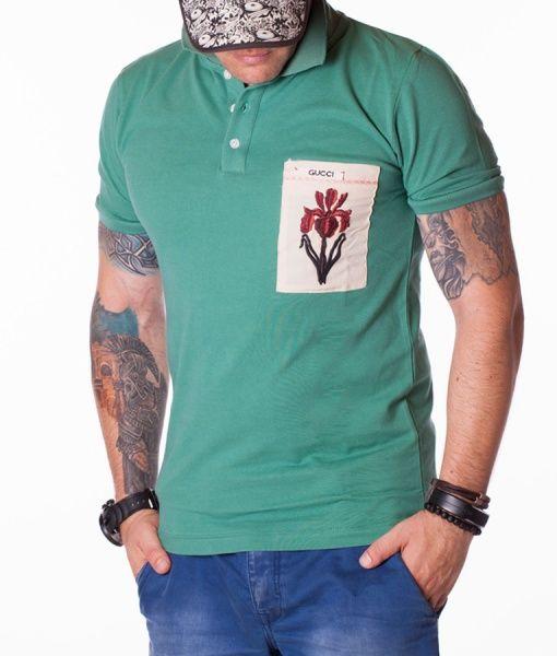 Gucci Tricouri Polo - Orchid tricou polo verde