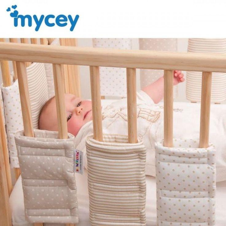 Mycey Bumpsters - Yatak Kenar Koruyucu 12'li Paket