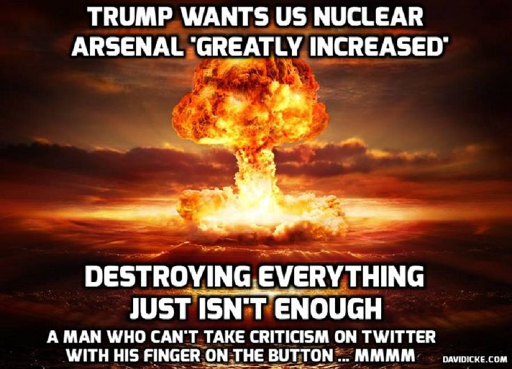 David Icke | Trump: US must modernize & rebuild its nuclear arsenal to deter any aggression