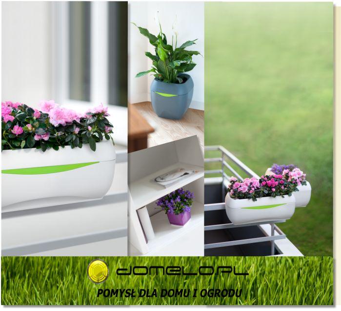 Polecamy!!! U nas znajdziesz doniczki na balkon, do kuchni, do ogrodu i do domu  www.domelo.pl  #dom #ogród #doniczki #hagsen #domelo #kwiaty #zioła #sadzenie #samonawadnianie #parabole #osłonki #balkon #doniczki wiszące