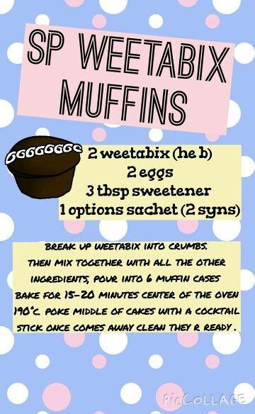 Sp weetabix muffins