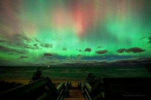 The aurora borealis is a breathtaking sight that many consider themselves lucky to catch. Marquette-based visual artist Shawn Malone shares her secrets for viewing the Northern Lights in Michigan on our blog.