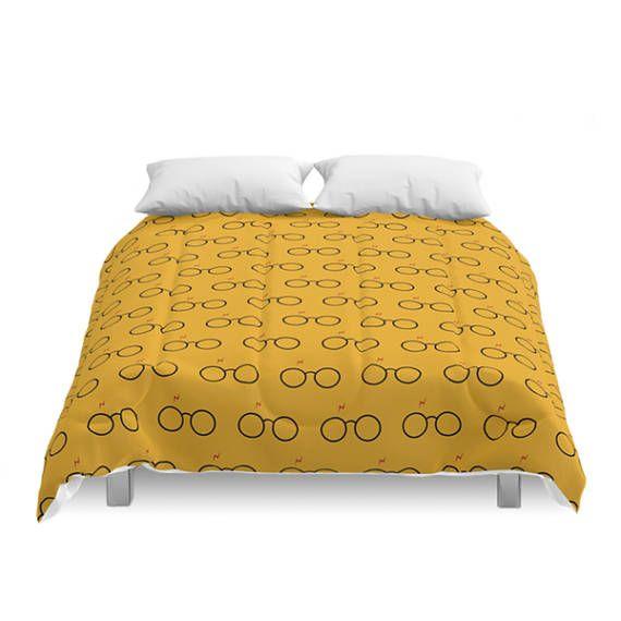 Harry Potter Pattern Comforter Geek Bedroom Children Bed