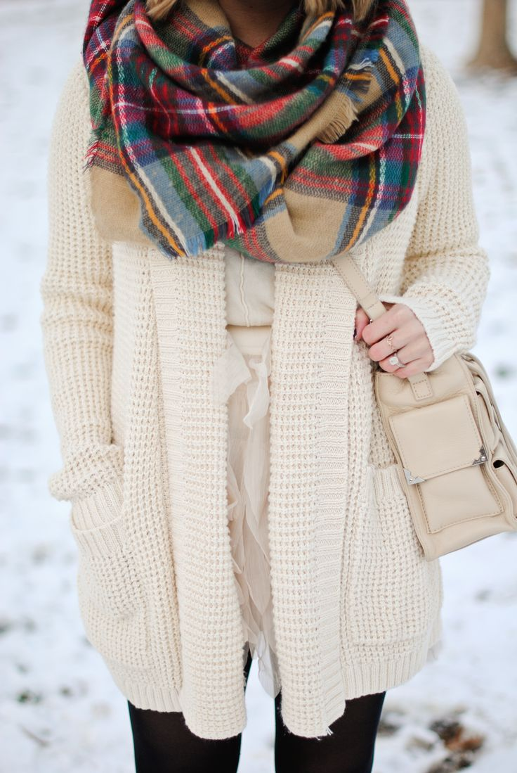 <3 this scarf! So cosy