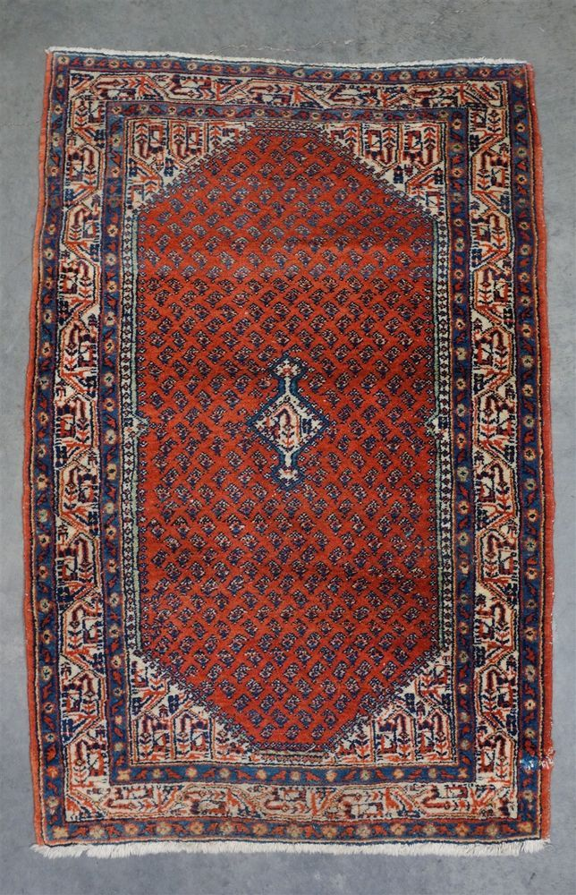 Estate Found Antique 19c Middle Eastern All Natural Wool Rug 4 1 X 2 7 Natural Wool Rugs Rugs Wool Rug