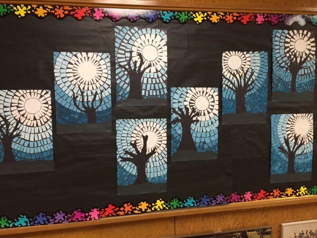 Image result for 1st grade winter art | School ideas ...