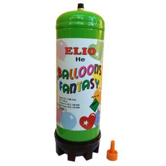 promo - bouteille d'hélium pour le gonflage de ballons Mylars ou latex Comprenant : 1 Bouteille d'hélium Jetable avec valve. 100%Biodégradable.