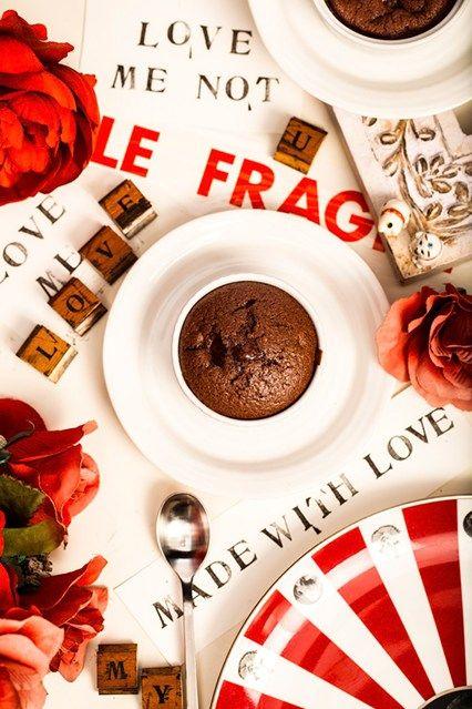Hemsley & Hemsley Valentines Chocolate Molten Pudding Recipe (Vogue.com UK)