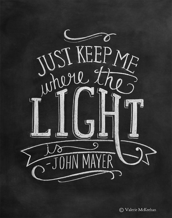 """""""Gravity,"""" John Mayer lyrics  He that is of a merry heart has a continual feast. — Proverbs 15:15"""