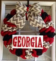 Georgia Bulldog Wreath - Google Search
