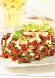 No Pasta Lasagna - You won't believe there's not pasta in this dish. Love! #recipe