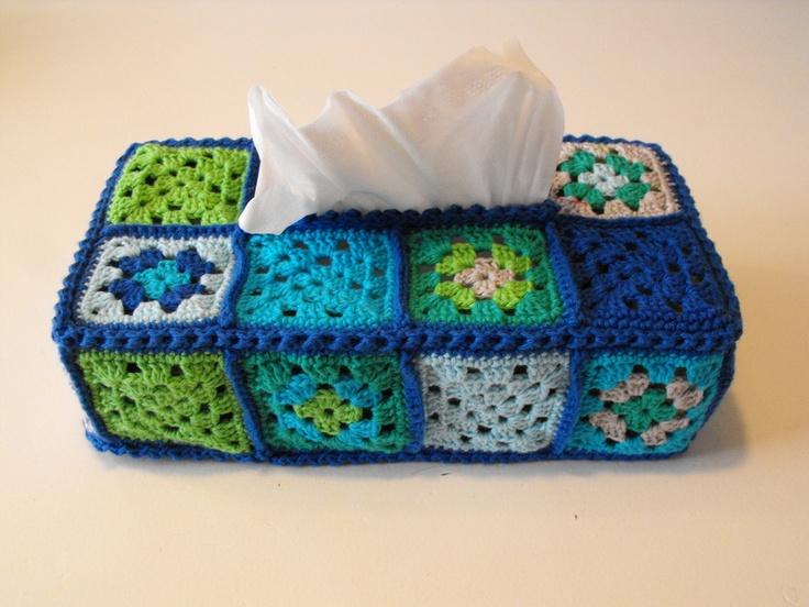 Vind je een tissuebox saai en zou je graag een gepimpte box op tafel hebben staan of op je nachtkastje?    De cover van Renee Idee is een vrolijke ...