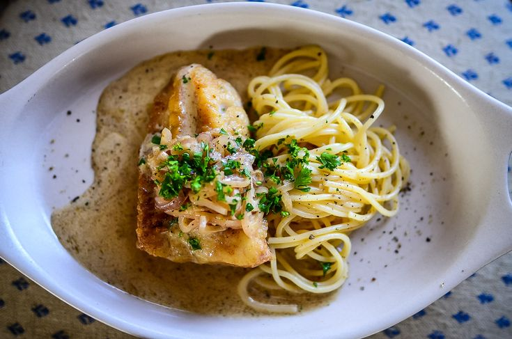 Enjoy this cod with shallots and cream sauce recipe, a fave in our home. It takes less than 30 minutes, uses minimal dishes, and pleases in a big way.