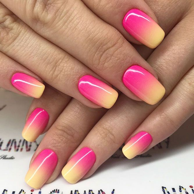 27 Terrific Designs Done With Gel Nail Polish To Try This Season Ombre Nail Art Designs Nail Art Ombre Ombre Nails