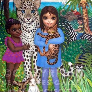 PARADISE PETS - MARGARET KEANE (Big Eyes film comes out Wednesday, December 24, 2014!)
