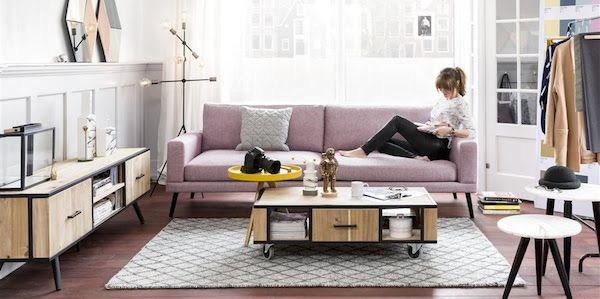 Meuble Kinna Nouvelle Collection Tendance By Xooon Abitare Living Interior Styling Living Room Living Room Style Board Interior Design Living Room