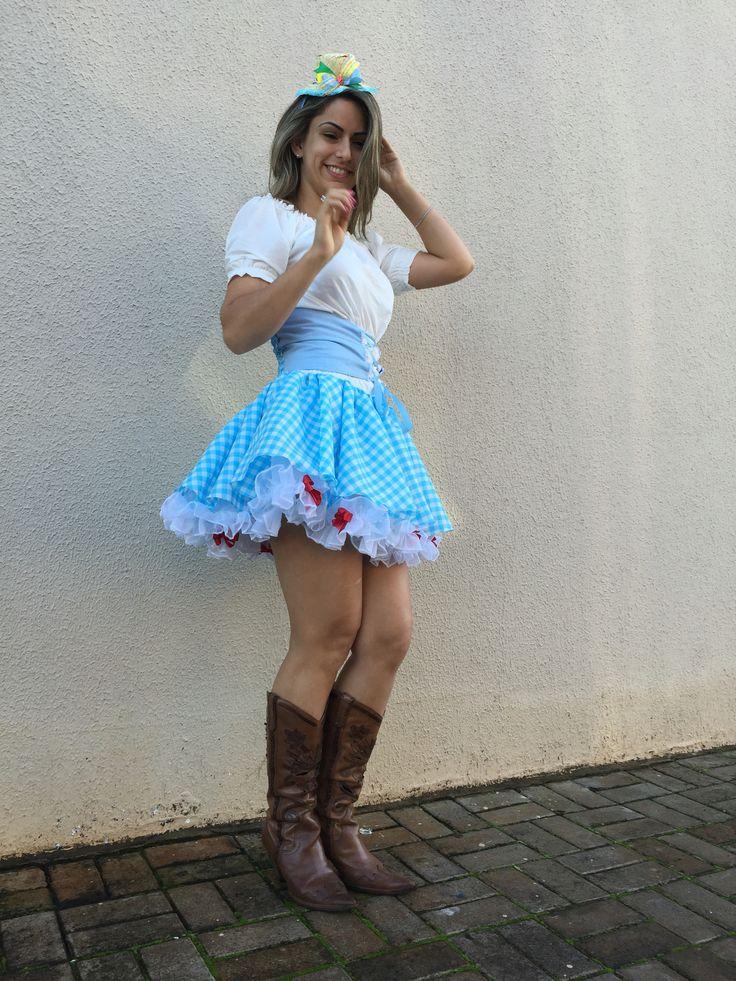 Vestido junino Dalili Store Baby - enojamos para todo o Brasil 45-99169287