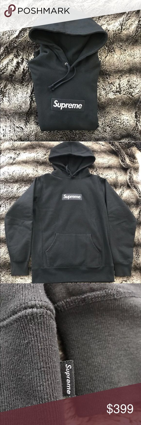 Supreme Black Hoodie ( Authentic.) READ : selling cheap or TRADE , have multiple in stock, everything on my page is 100% authentic, if you want to purchase an item please text me before purchasing - // 402 913 7730// Supreme Other