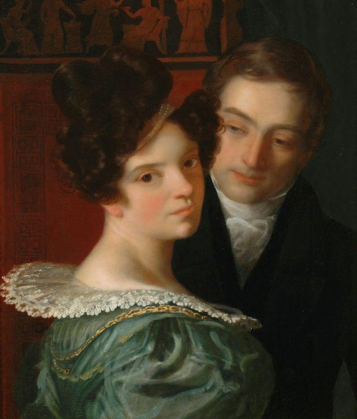✿ Christoffer Wilhelm ECKERSBERG (1783-1853) ✿   Catherine La Rose Poesia e Arte