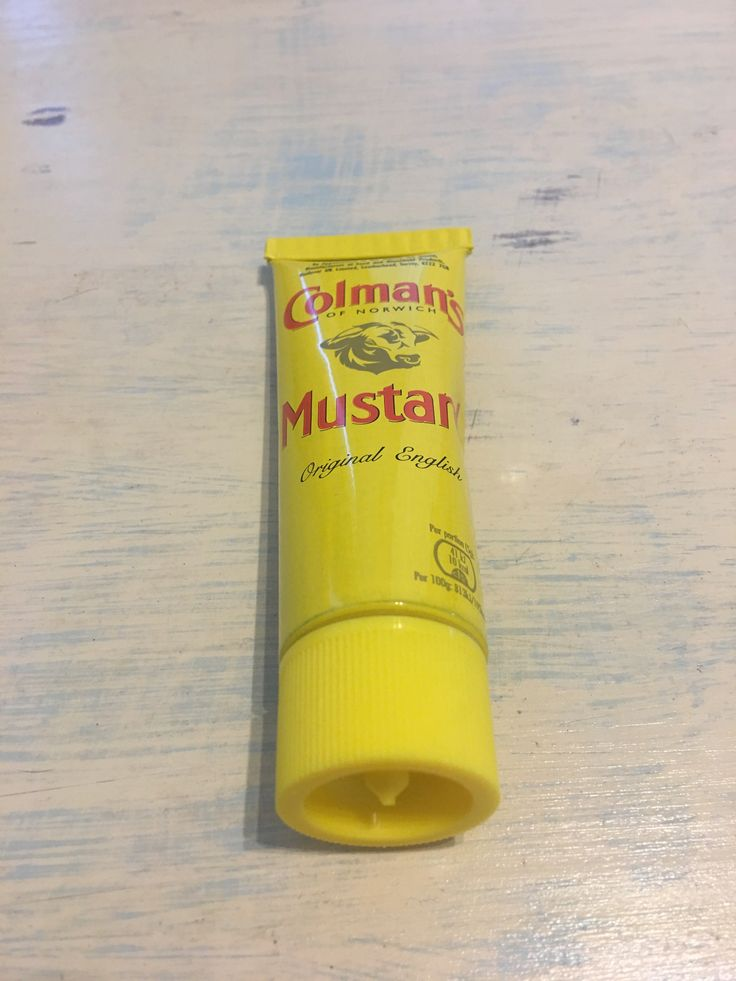 Coleman's English Mustard. Produced in Great Britain.