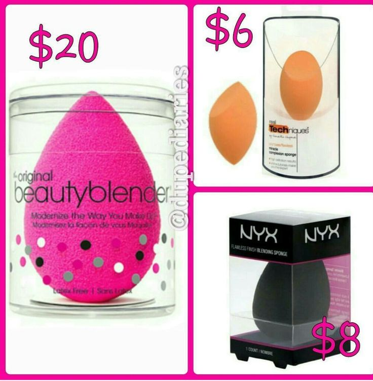 Beauty Blender dupes. Read more at dupediaries.com