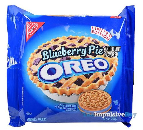 REVIEW: Limited Edition Blueberry Pie Oreo Cookies