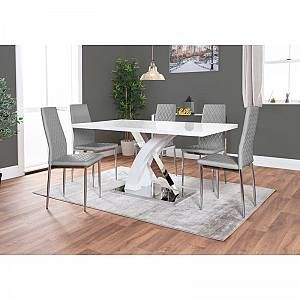 Dining Table Sets White Dining Table Dining Table Marble Chrome Dining Table