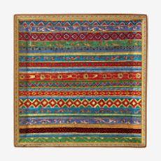 Cheval d'Orient square plate - P009845P
