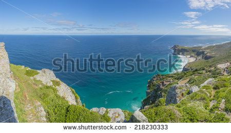 http://www.shutterstock.com/pic-218230333/stock-photo-cape-point-landscape-located-near-the-city-of-cape-town-south-africa-the-peninsula-has-towering.html?src=l2UmwzKl67EMHu1DgRoo8g-1-26 Cape Point Landscape, Located Near The City Of Cape Town, South Africa. The Peninsula Has Towering Rock Cliffs That Overlook The Beautiful Ocean View. A Tourism And Travel Hot Spot. Stock Photo 218230333 : Shutterstock